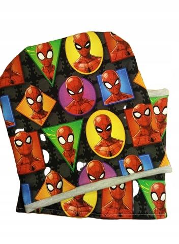 Spiderman komplet czapka komin 54-56 cm