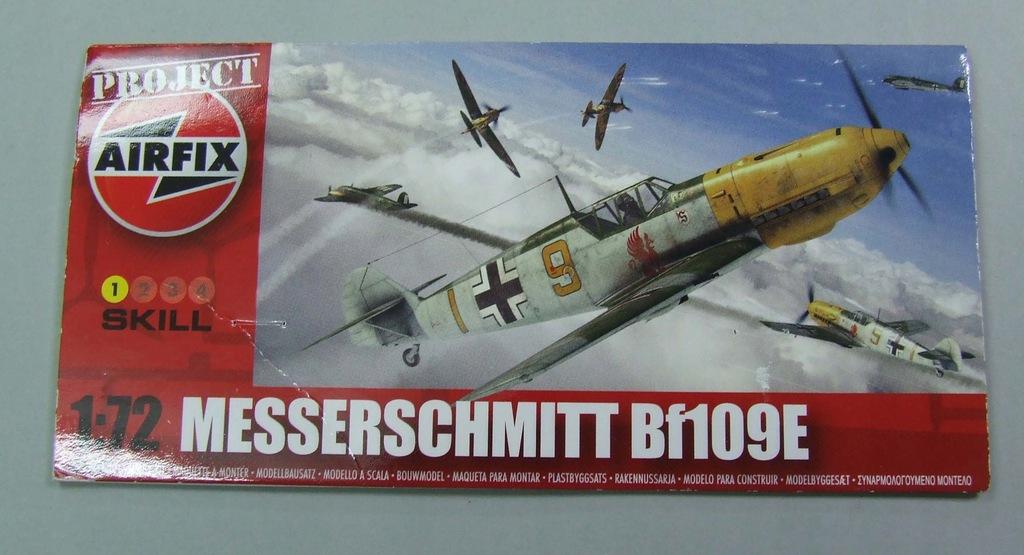 Bf-109 e Airfix 76503 1/72