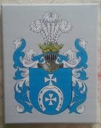HERB SZLACHECKI LUBICZ, 21 x 30 cm (wzór)