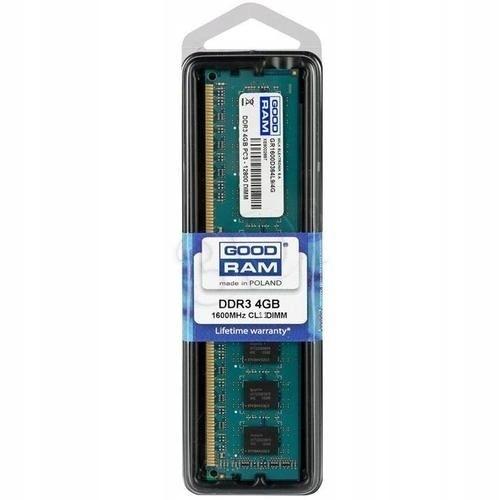 GOODRAM DDR3 4GB/1600 CL11 Dual Rank 256*8
