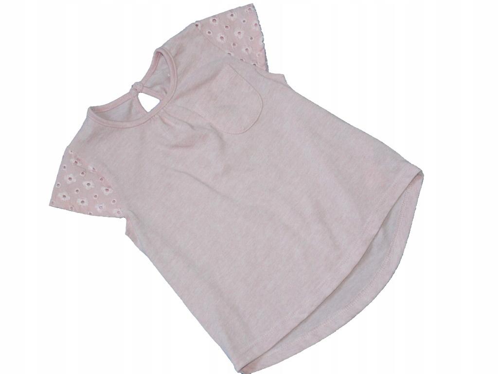 K6 F&F różowa bluzeczka 18/24 mies