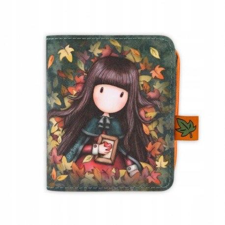 Portfel z odpinaną portmonetką - gorjuss - autumn