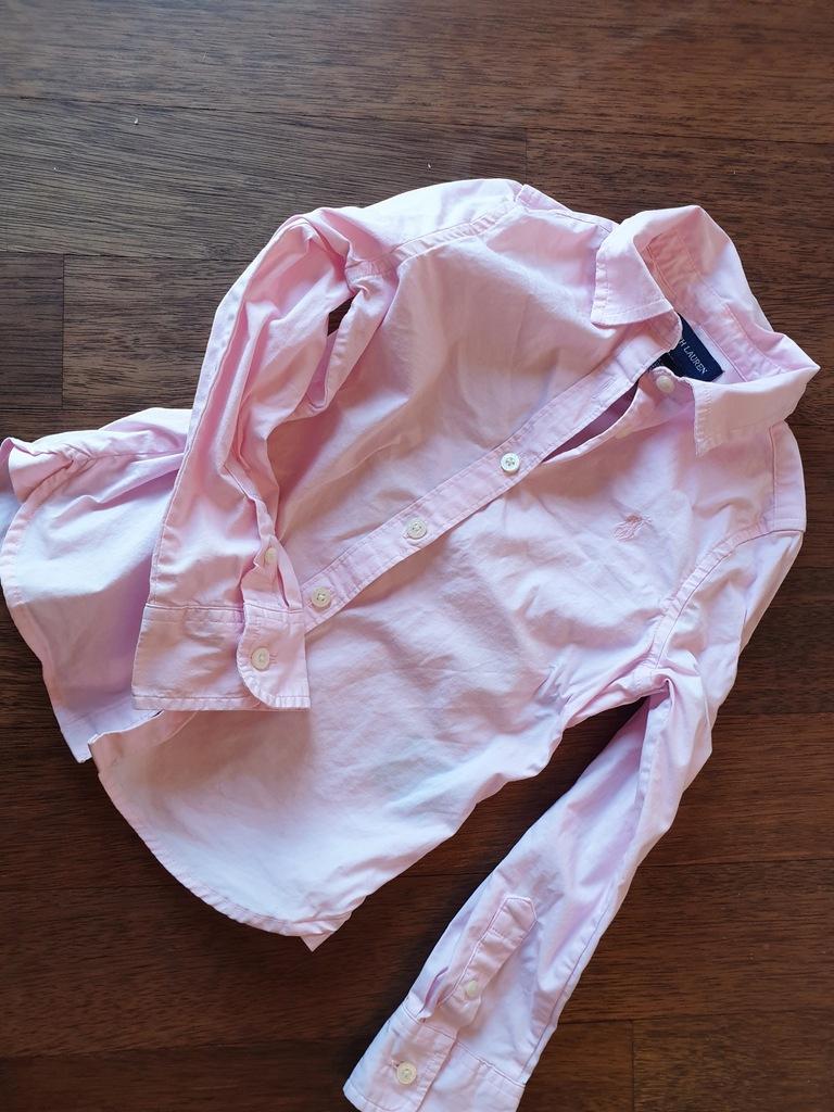 Ralph Laurent koszula różowa 4 T