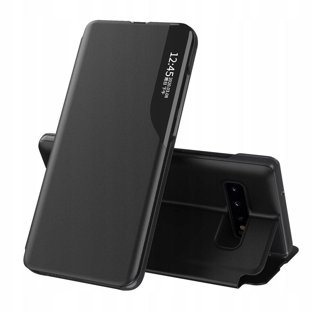 Eco Leather View Case etui do Samsung S10 czarny