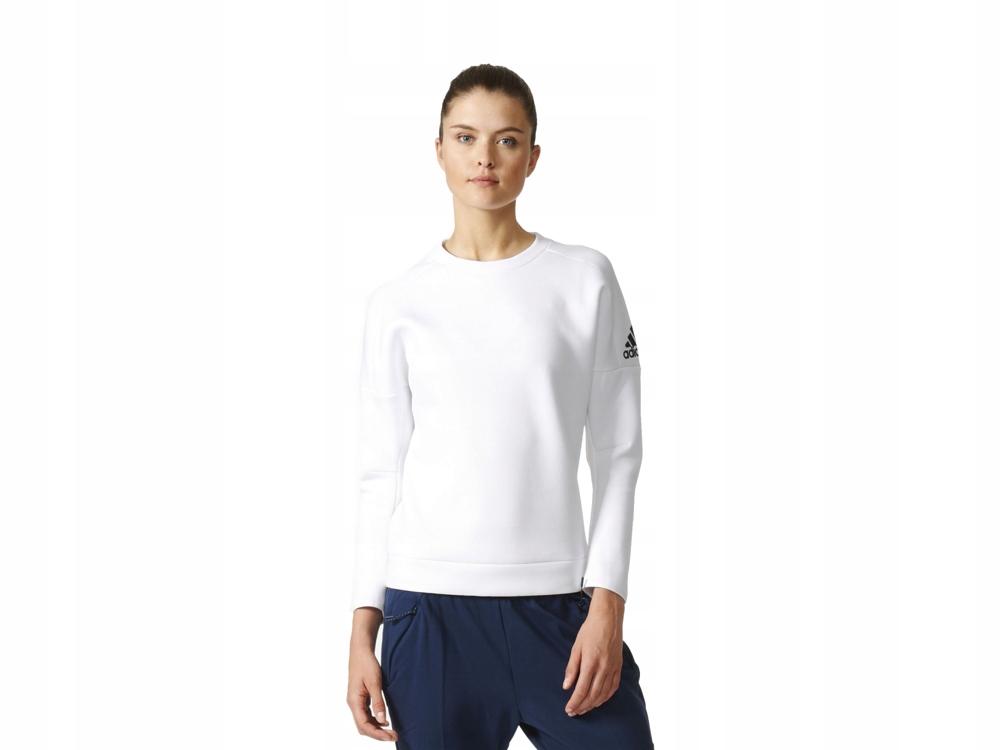 biała bawełniana bluza sportowa
