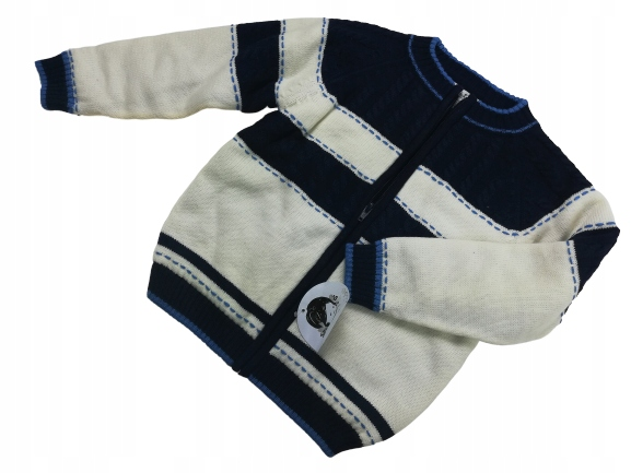 SARAH LOUISE sweterek ROZPINANY splot 116/6
