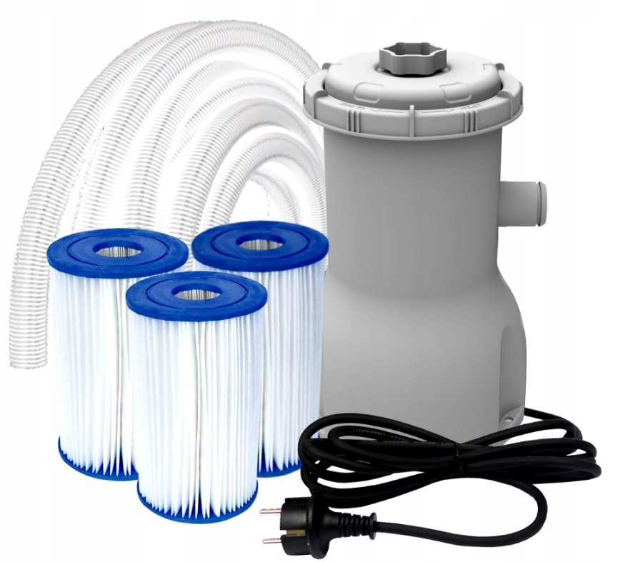 Pompa Filtrujaca Filtr Do Basenu 1136 L H 3x Filtr 8225612830 Oficjalne Archiwum Allegro