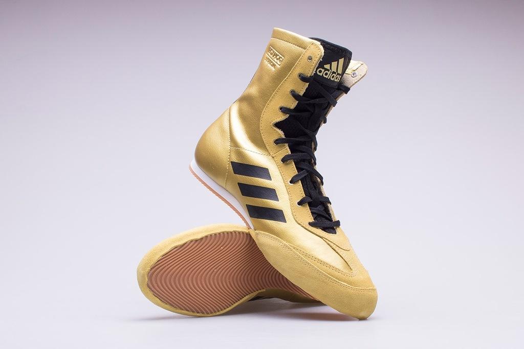 Buty bokserskie adidas BOX HOG X SPECIAL złote