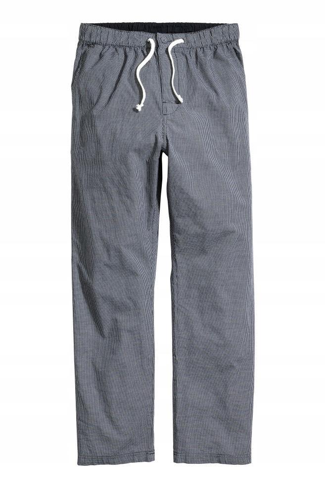 H&M Wzorzyste spodnie piżamowe rozm. M