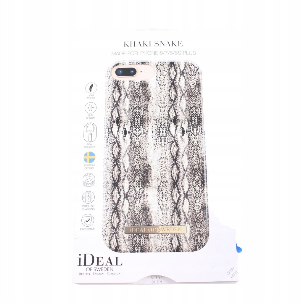 IDEAL OF SWEDEN jasnoszary Mobile Phone Case