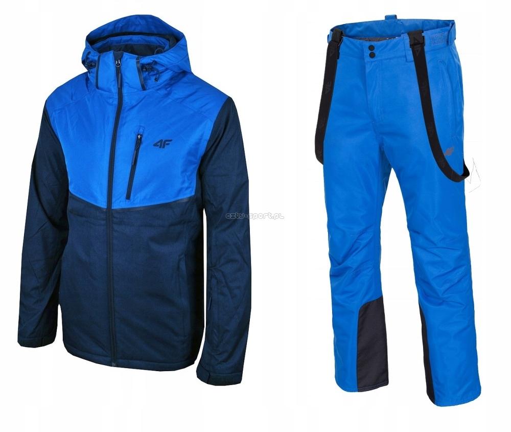 kurtki narciarskie męskie 4f