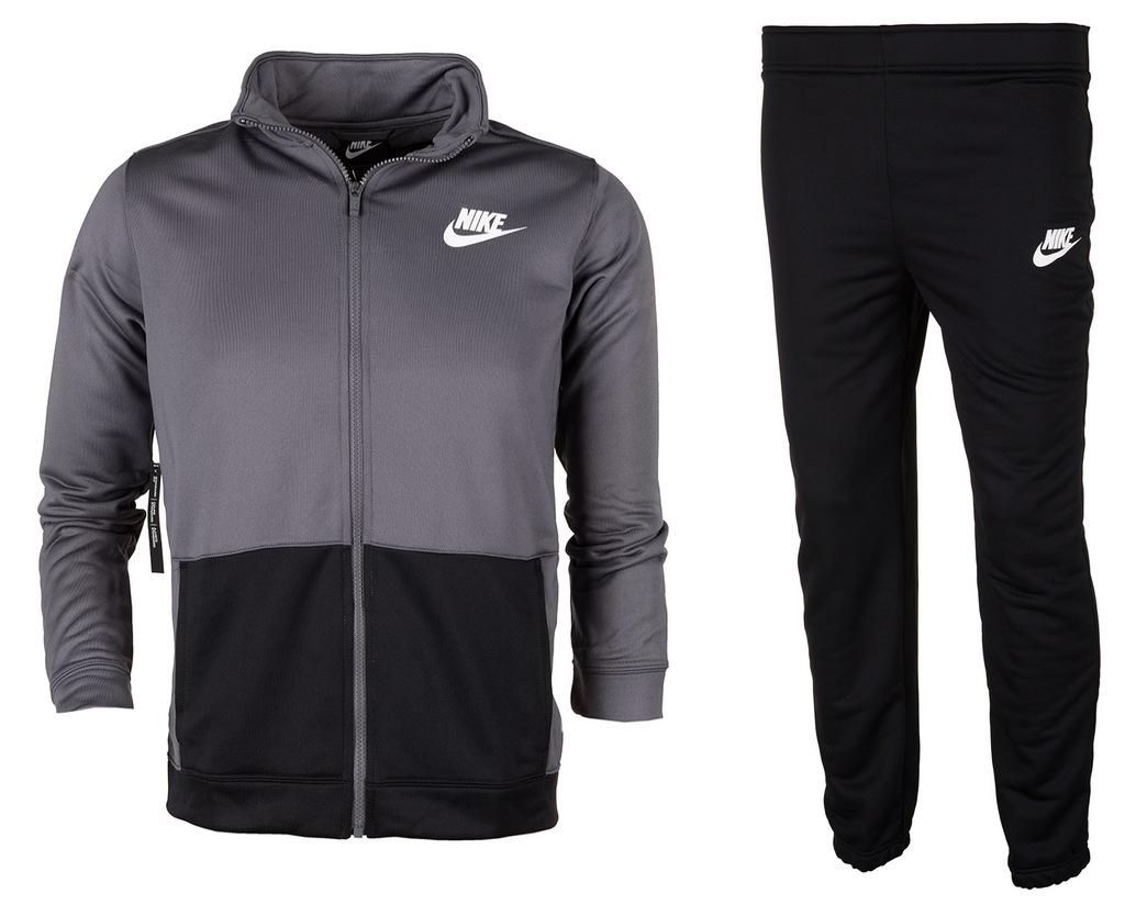 Nike dres kompletny chłopięcy AJ5449 021 r 128-137