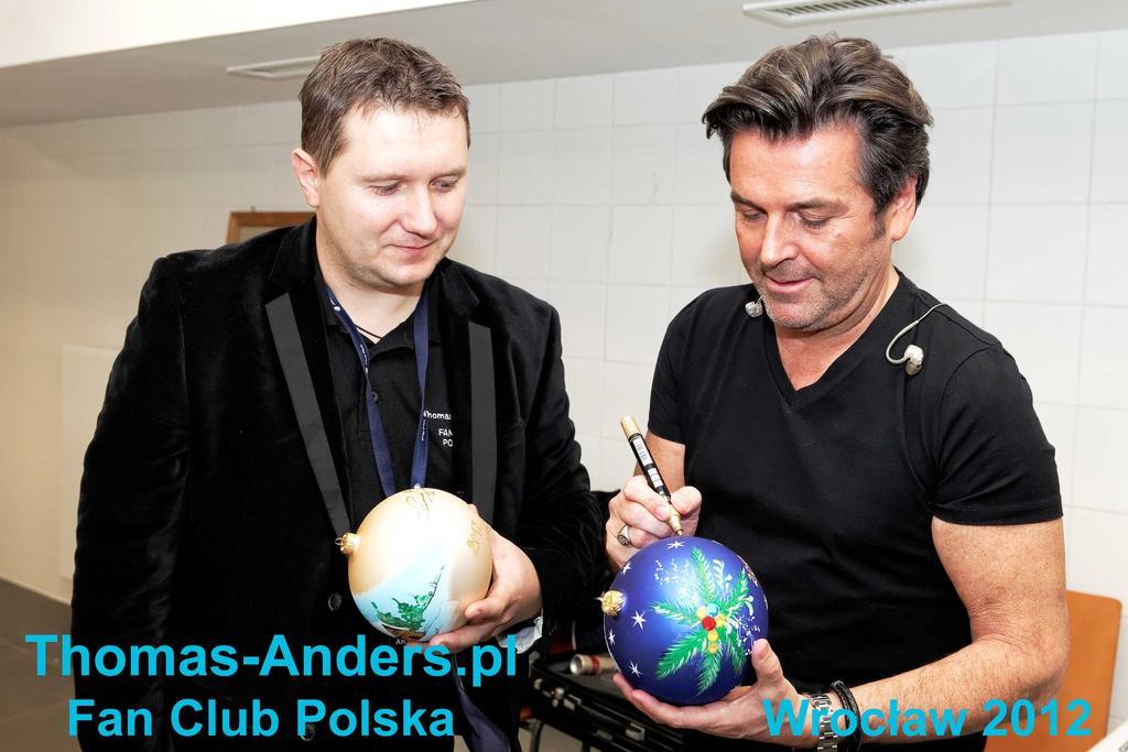 BOMBKA Z AUTOGRAFEM  THOMAS ANDERS-MODERN TALKING