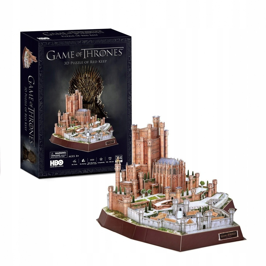 Cubicfun Puzzle 3d Gra O Tron Red Keep 9269926750 Oficjalne Archiwum Allegro