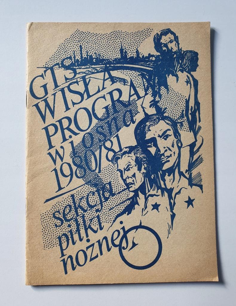 PROGRAM WISŁA KRAKÓW SEZON WIOSNA 1980/81