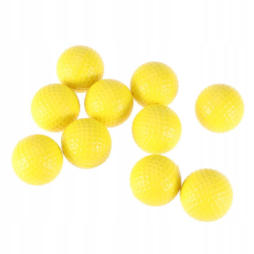 10 sztuk Trening wewnętrzny PU Piłki golfowe Miękk