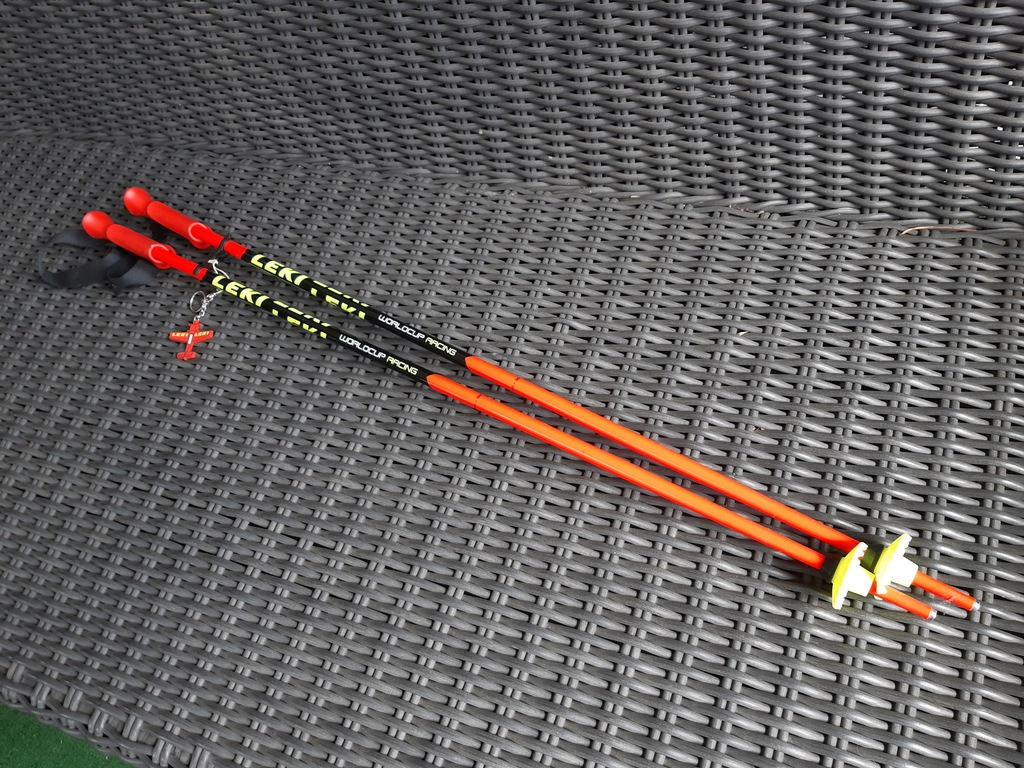 Kijki zjazdowe World Cup RACING Leki 95 cm
