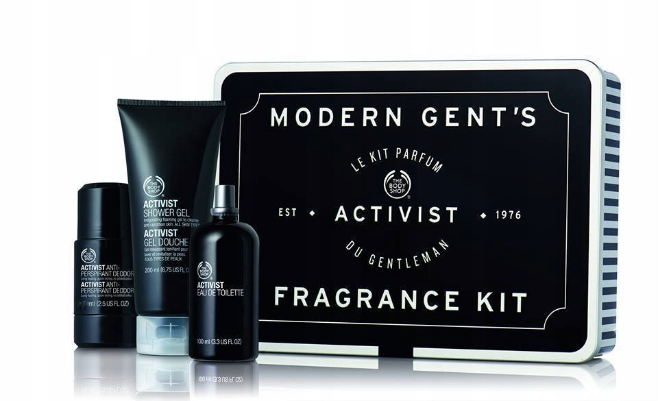 BODY SHOP__zestaw ACTIVIST__MEN__EDT żel deo