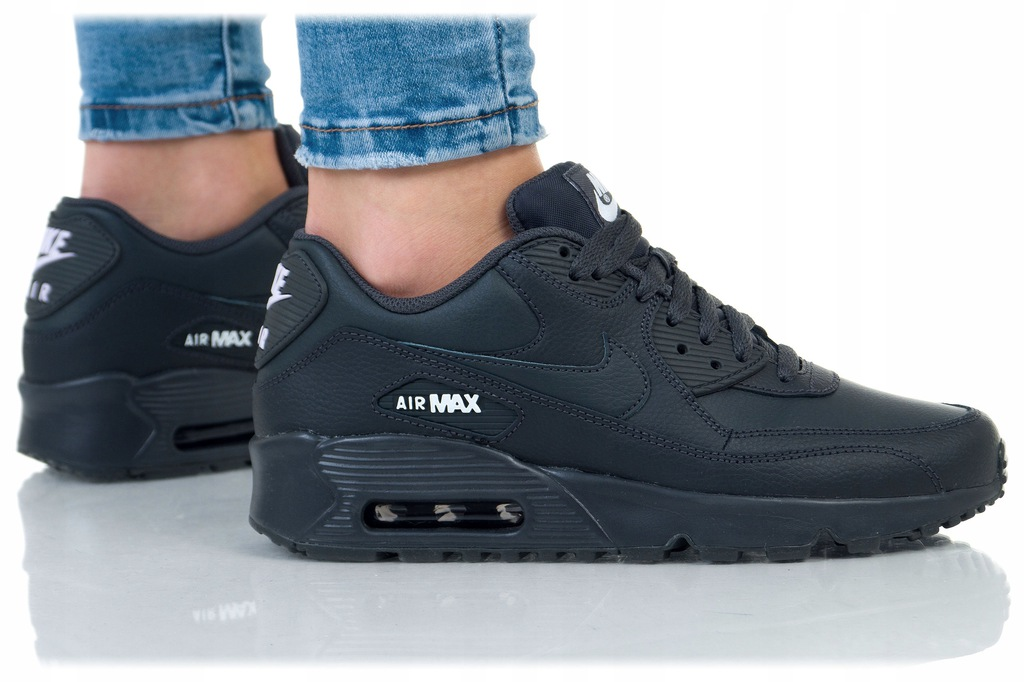 Nike Air Max 90 Ltr Gs 833412 027 | Czarny, Szary
