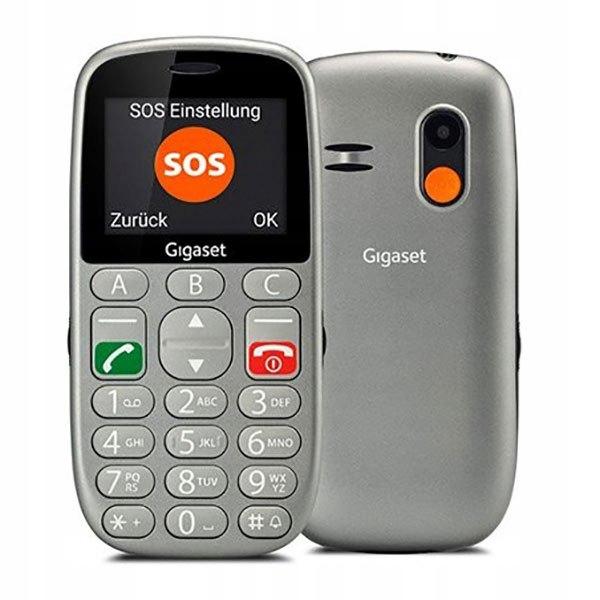 Telefon dla seniora Gigaset GL390 2.2'' Dual SIM