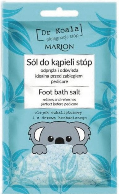 Marion sól do kąpieli stóp DR KOALA