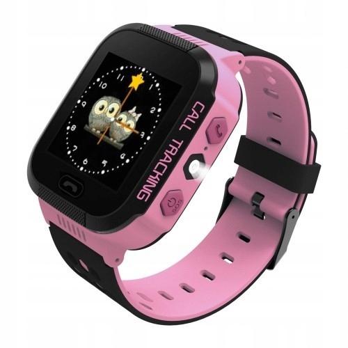 ART Watch Phone Go z lokalizatorem GPS różowy