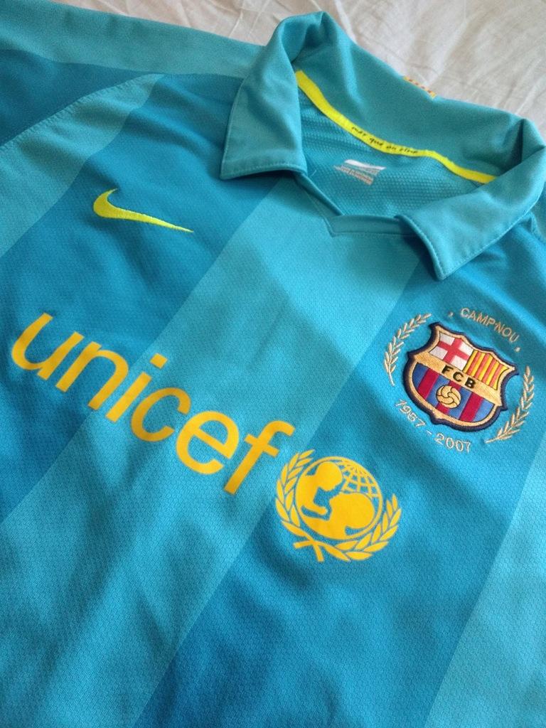 hemisferio Torpe relajarse  Koszulka Nike FC Barcelona 07/08 AWAY YXL 158-170 - 8329489190 - oficjalne  archiwum Allegro