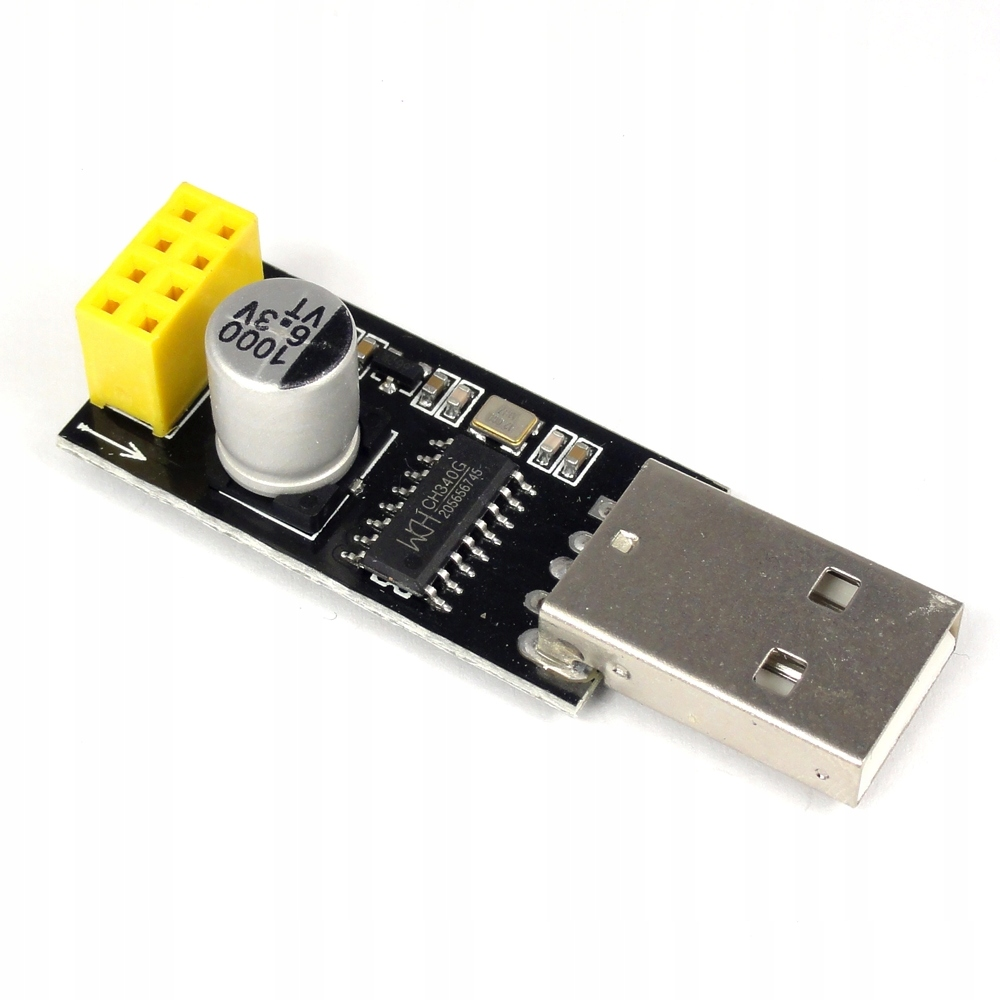 Programator adapter USB ESP-01 ESP-01S UART CH340