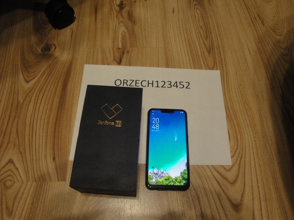 Smartfon Asus ZenFone 5Z granatowy 64 GB