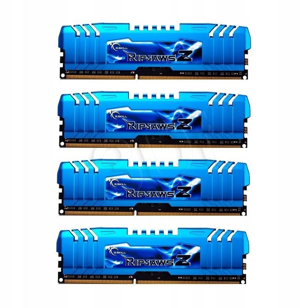 Zestaw pamięci G.SKILL RipjawsX DDR3 DIMM 4 x 8 GB