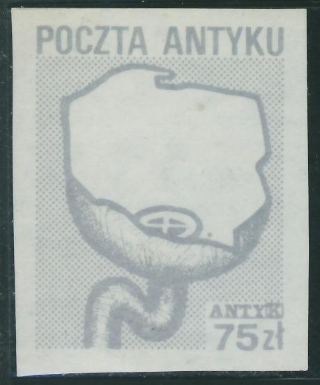 Poczta Antyku 75 zł. - Antyk / 1
