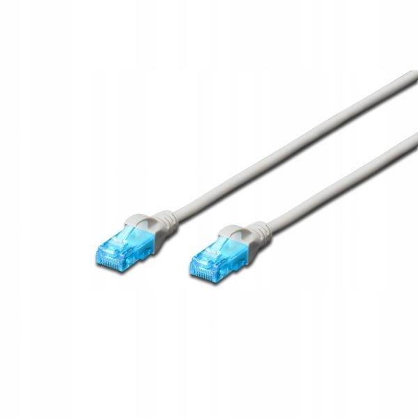Digitus Patch cord U/UTP kat.5e PVC 20m szary