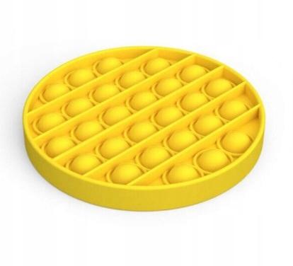 Zabawka sensoryczna Push Bubble Pop koło żółte