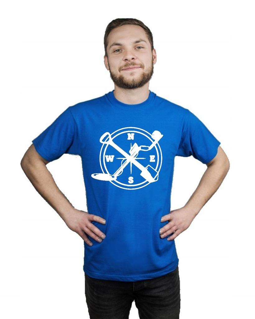 Koszulka męska WYKOPKI SAPERKA KOMPAS S