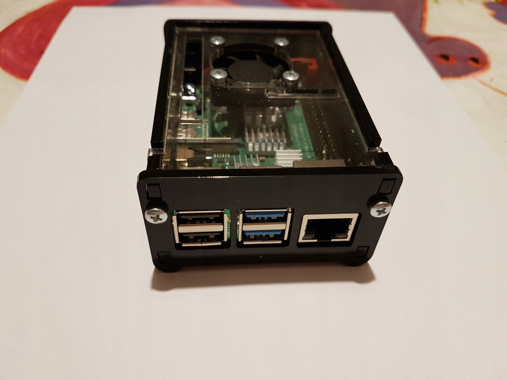 Minikomputer Raspberry Pi 4 B 2 GB RAM
