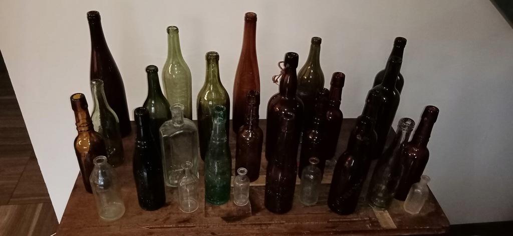 Stare niemieckie butelki