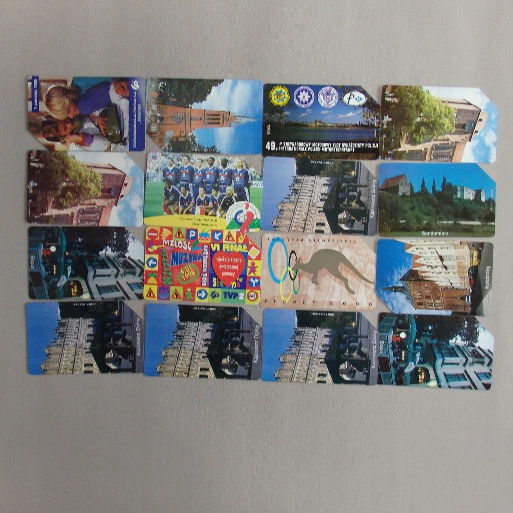 Zestaw kart telefonicznych PolskaMIX BCM(144E)(RZ)