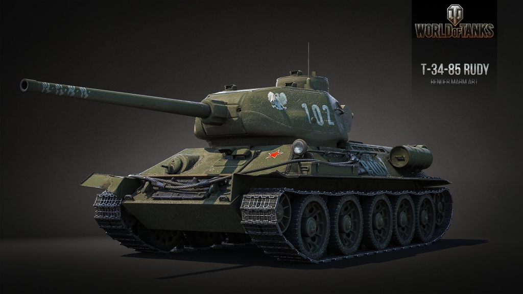 World of Tanks - Type59, Rudy 102, E25 i gadżety!