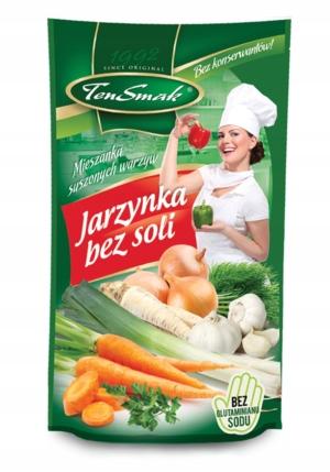 Jarzynka bez dodatku soli TenSmak 100g