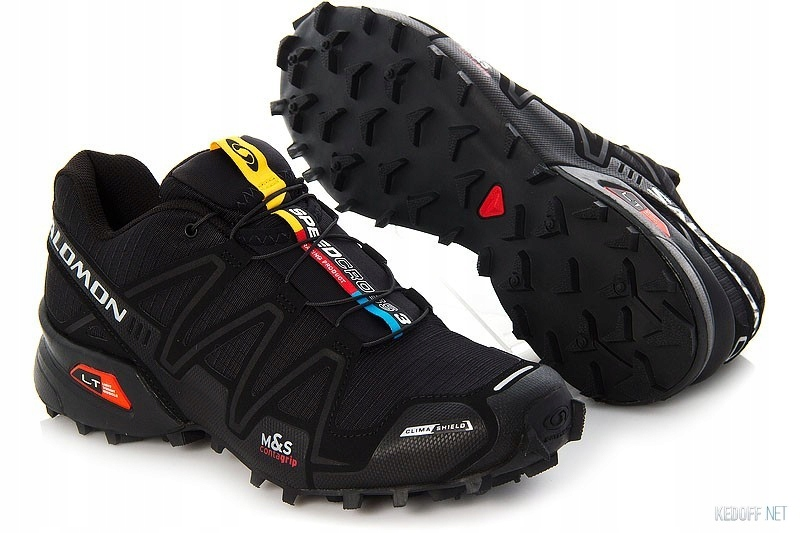 Buty Salomon Speedcross 3 CS W Black_40 idealne