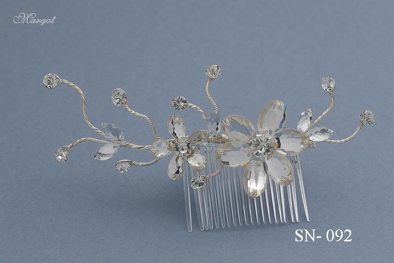 Stroik ślubny SN092 - fryzury ślubnej, głowę