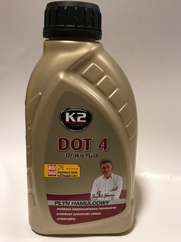 płyn hamulcowy DOT 4 K2 płyn hamulcowy 500G
