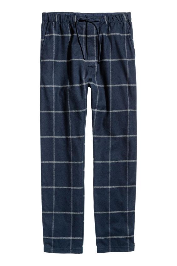 H&M Spodnie piżamowe z bawełny rozm. S