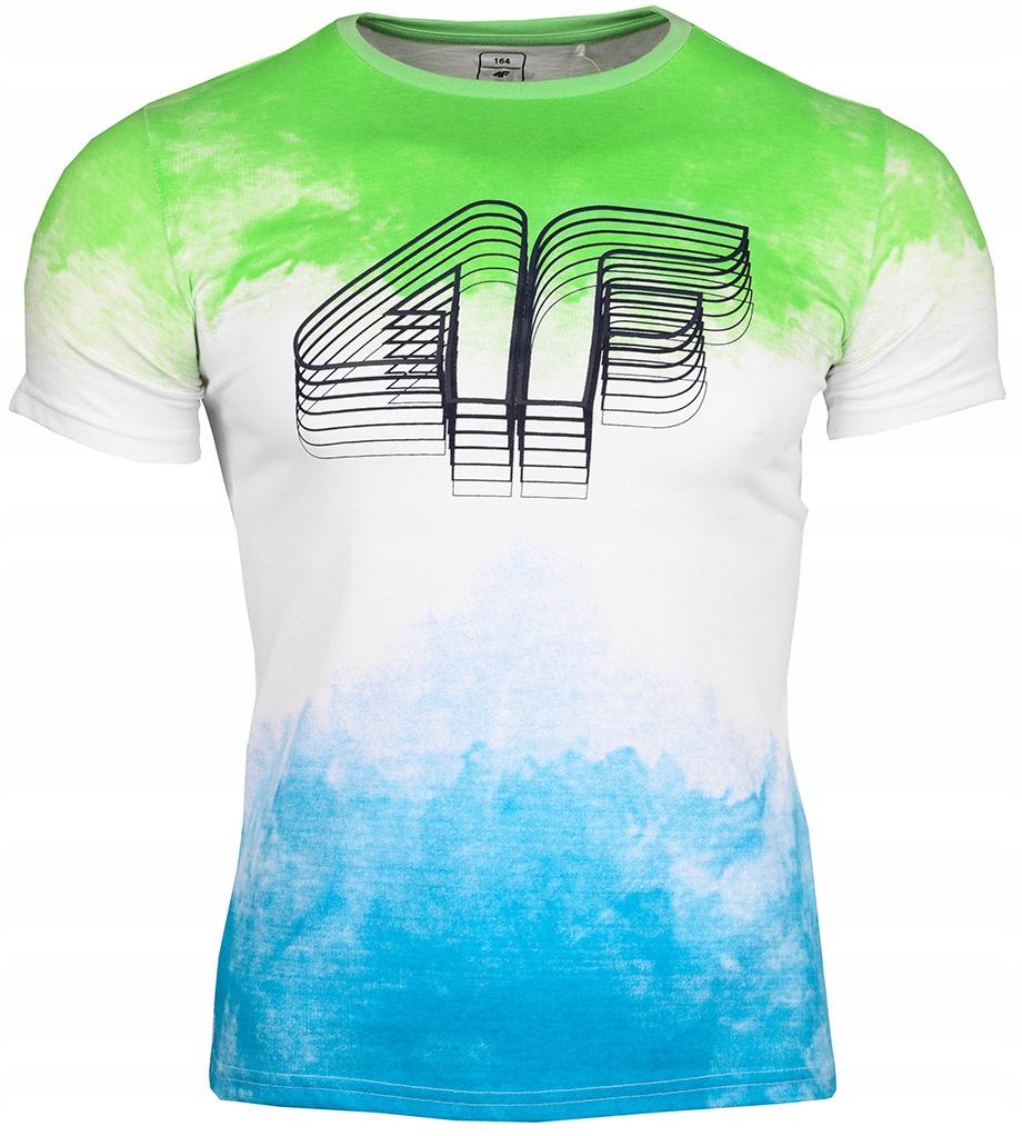 4F Koszulka t-shirt dziecięca Junior roz.152