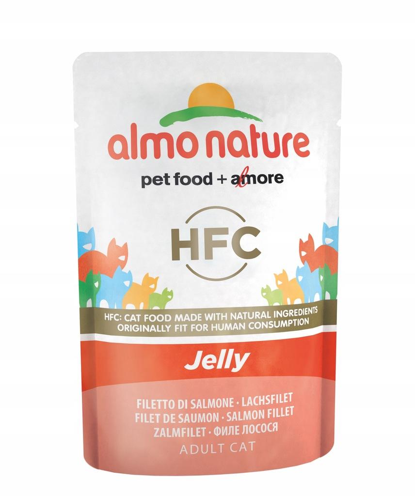 ALMO NATURE HFC Jelly - łosoś 55g