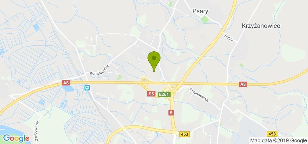 Działka Wrocław, Psie Pole, 1380,00 m²