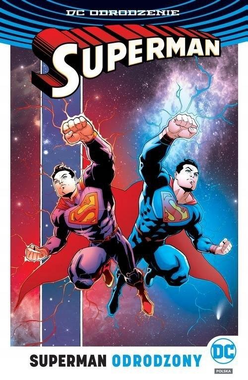 Superman Tom 4 Odrodzony Jurgens Dan, Tomasi Peter
