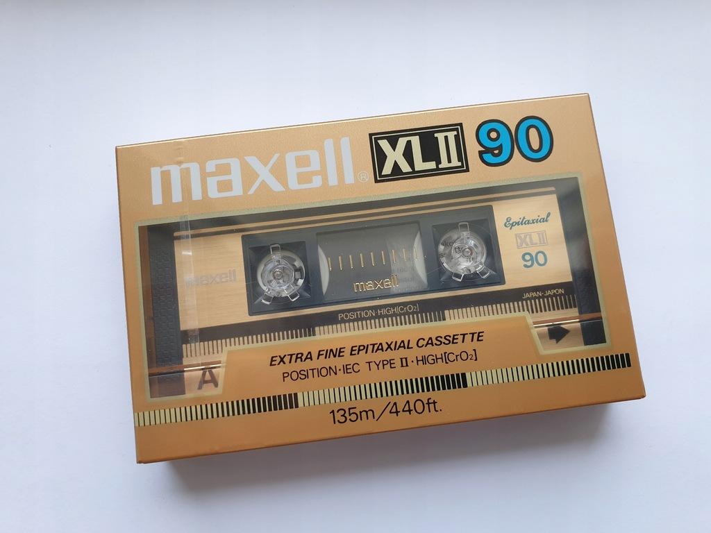 Kaseta MAXELL XL II 90 ( NOWA )