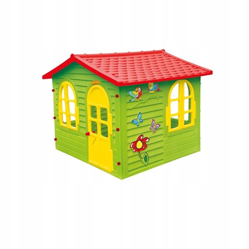 Duży Domek Ogrodowy dla Dzieci Otwierane Okna i Dr