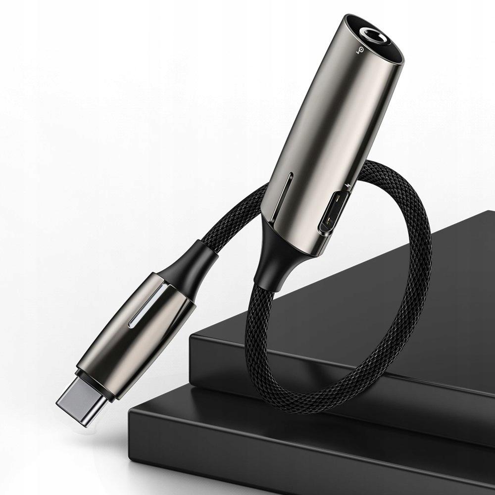 Adapter Audio USB-C do Mini Jack 3.5mm Mikrofon